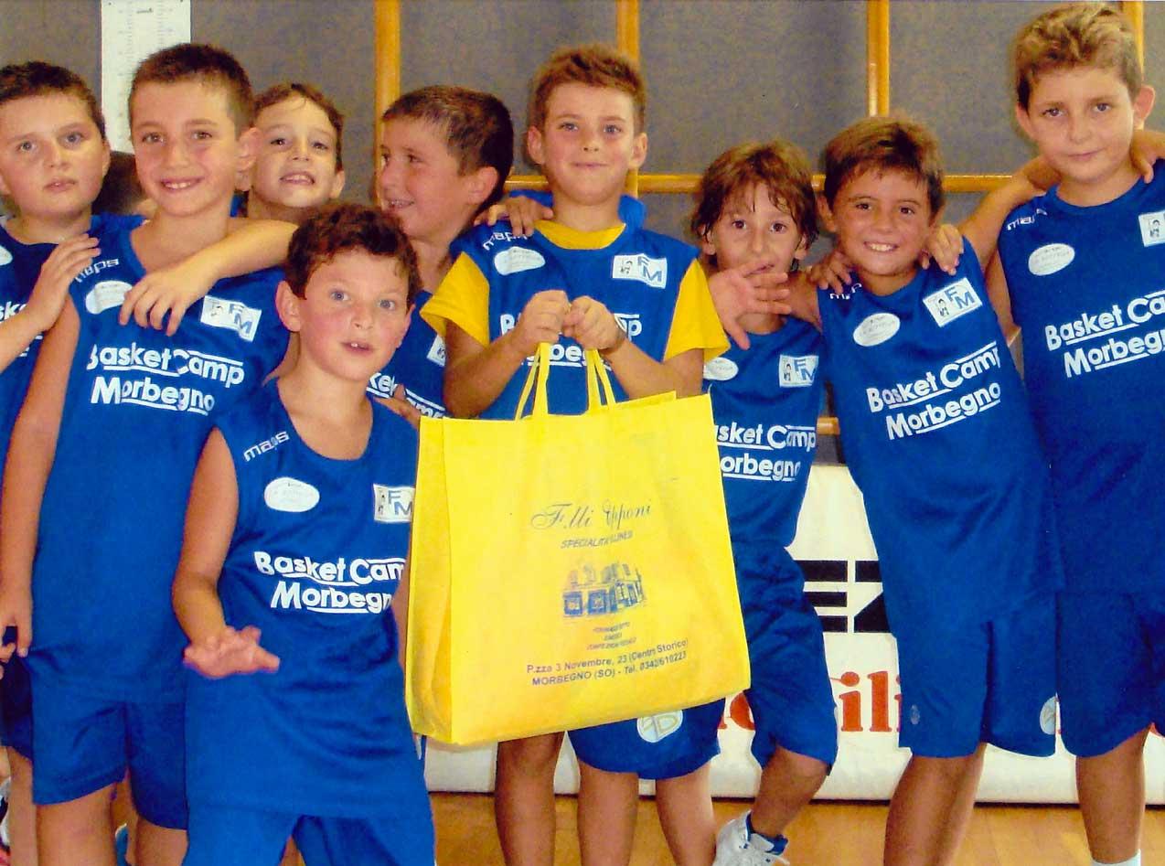 ITALIA - MORBEGNO - Basket Camp