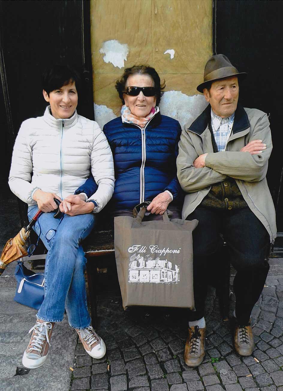 ITALIA - MORBEGNO - Famiglia Ciapponi