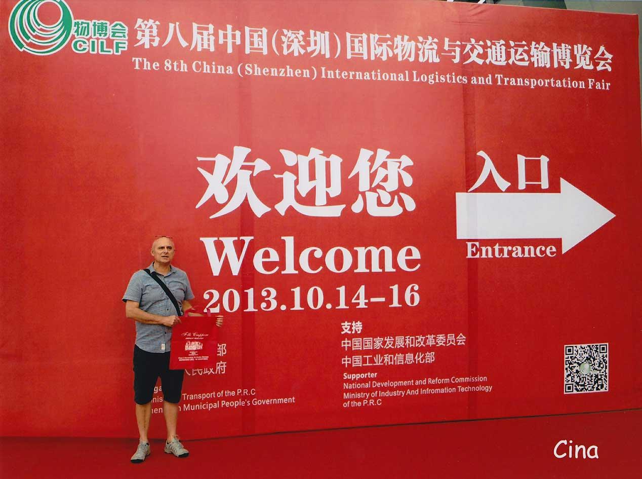 CINA - SHENZHEN - International Logistic and Transportation Fair