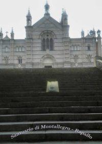 RAPALLO - Santuario di Nostra Signora di Montallegro